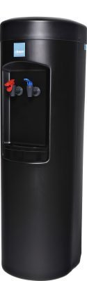 Clover D7A Hot and Cold Water Dispenser Black - Side View